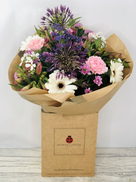 Allium Summer Bouquet: Booker Flowers and Gifts