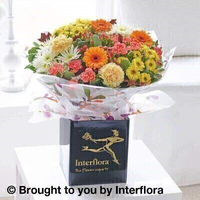 Autumn Celebration Hand Tied: Booker Flowers and Gifts