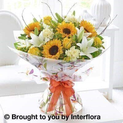 Autumn Magnificent Joy Hand Tied - EXTRA LARGE: Booker Flowers and Gifts