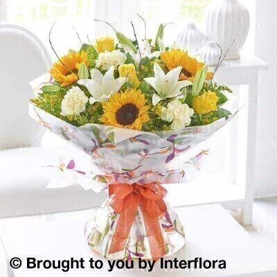 Autumn Magnificent Joy Hand Tied - LARGE: Booker Flowers and Gifts