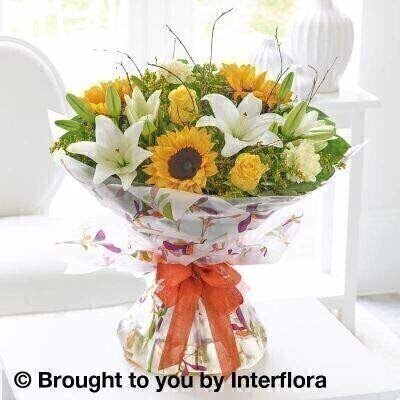 Autumn Magnificent Joy Hand Tied: Booker Flowers and Gifts