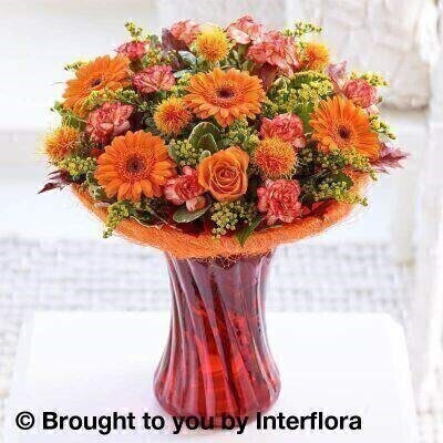 Autumn Russet Blaze Perfect Gift: Booker Flowers and Gifts