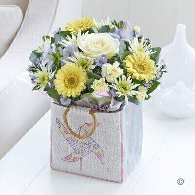 Baby Boy Gift Bag: Booker Flowers and Gifts