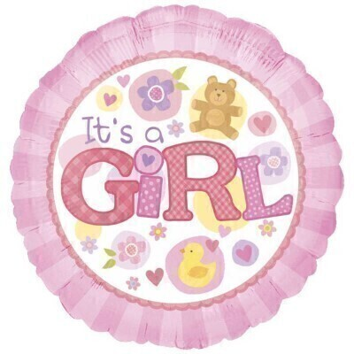 Baby Girl Ballloon: Booker Flowers and Gifts