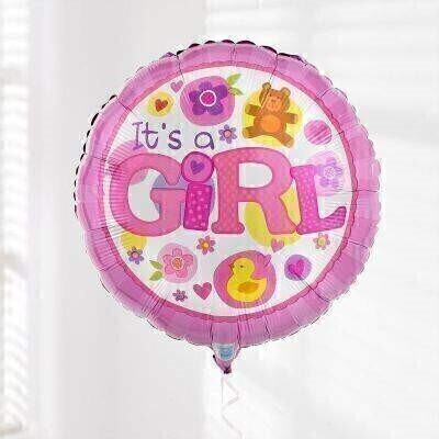 Baby Girl Balloon: Booker Flowers and Gifts