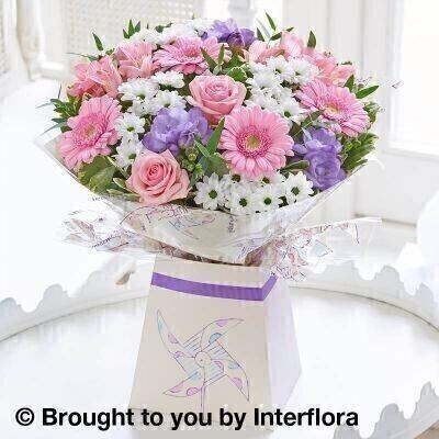 <h1>Pink and White Flowers - New Baby Flowers</h1>