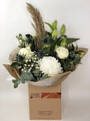 Blooms and Pampas Grass Bouquet: Booker Flowers and Gifts