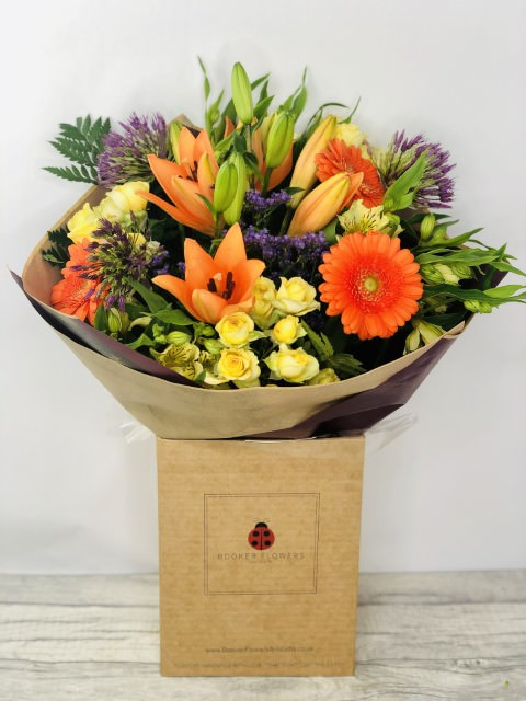 Bright Summer Bouquet of Flowers: Booker Flowers and Gifts