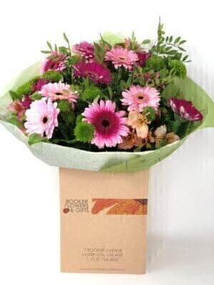 Chrysanthemum and Gerbera Bouquet of the Month
