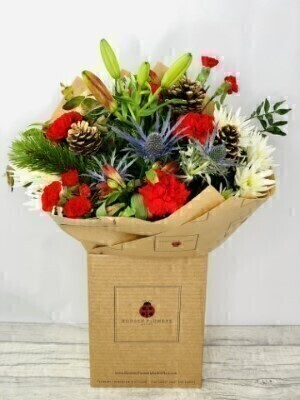 Large Festive Bouquet - Hand Delivered for Christmas