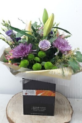 Chrysanthemum Lily and Rose Bouquet: Booker Flowers and Gifts
