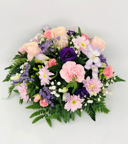 Lilac and Pink Classic Posy | Funeral Flowers