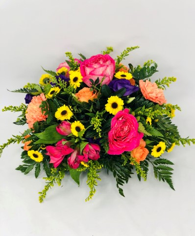 Vibrant Classic Posy | Funeral Flowers