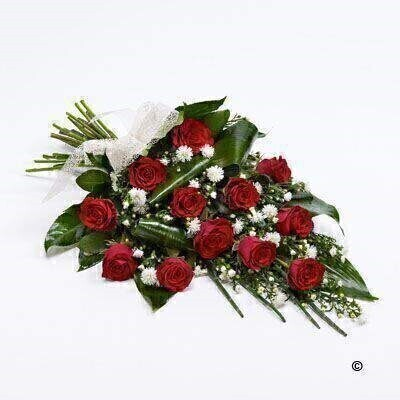 Classic Rose Sheaf - Red: Booker Flowers and Gifts
