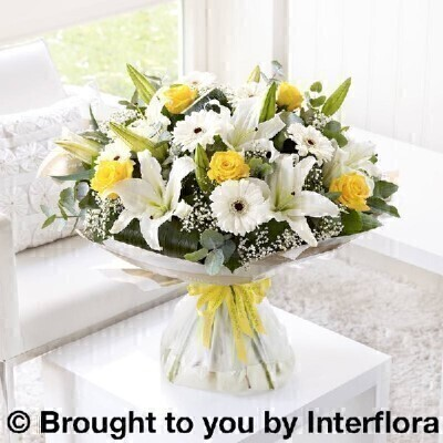 Congratulations Sunshine Hand Tied - X LARGE: Booker Flowers and Gifts