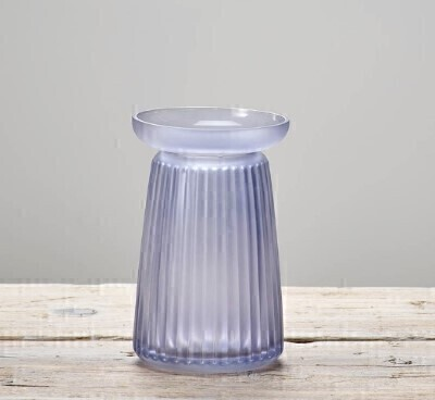 Lilac Glass Vase