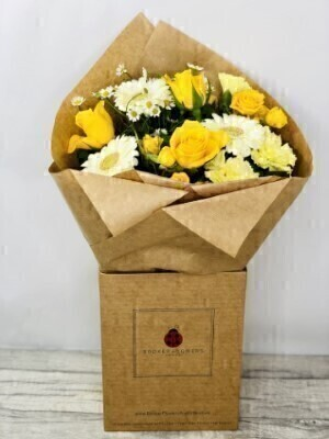Daisy Dream Hand-tied Bouquet: Booker Flowers and Gifts