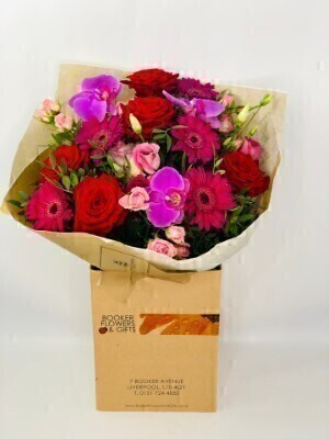 Daring Delight Luxury Bouquet: Booker Flowers and Gifts