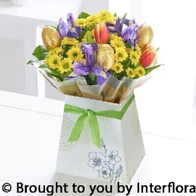 Easter egg gift bag booker flowers and gifts is the website of easter egg gift bag negle Gallery