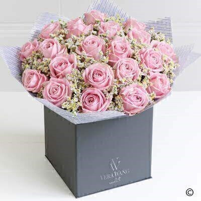 Extra Large Vera Wang Pink Perfection: Booker Flowers and Gifts