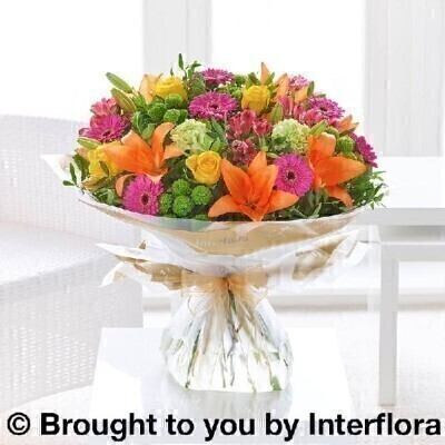 Extra Large Vibrant Hand-tied: Booker Flowers and Gifts