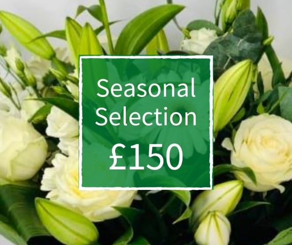 Florist Choice 150 - Seasonal Handtied Bouquet: Booker Flowers and Gifts