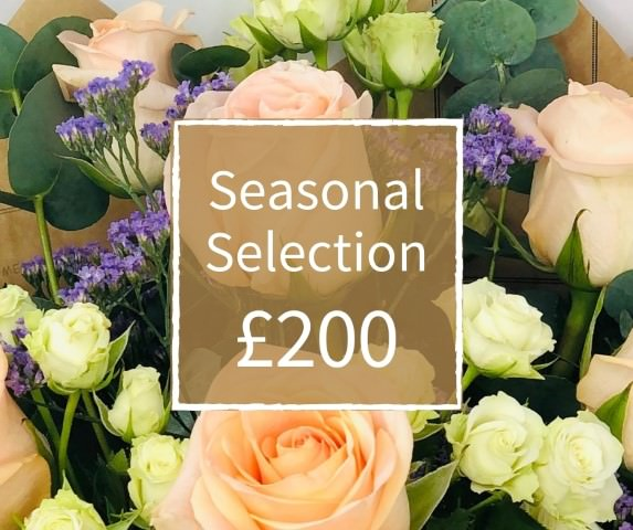 Florist Choice 200 - Seasonal Handtied Bouquet: Booker Flowers and Gifts
