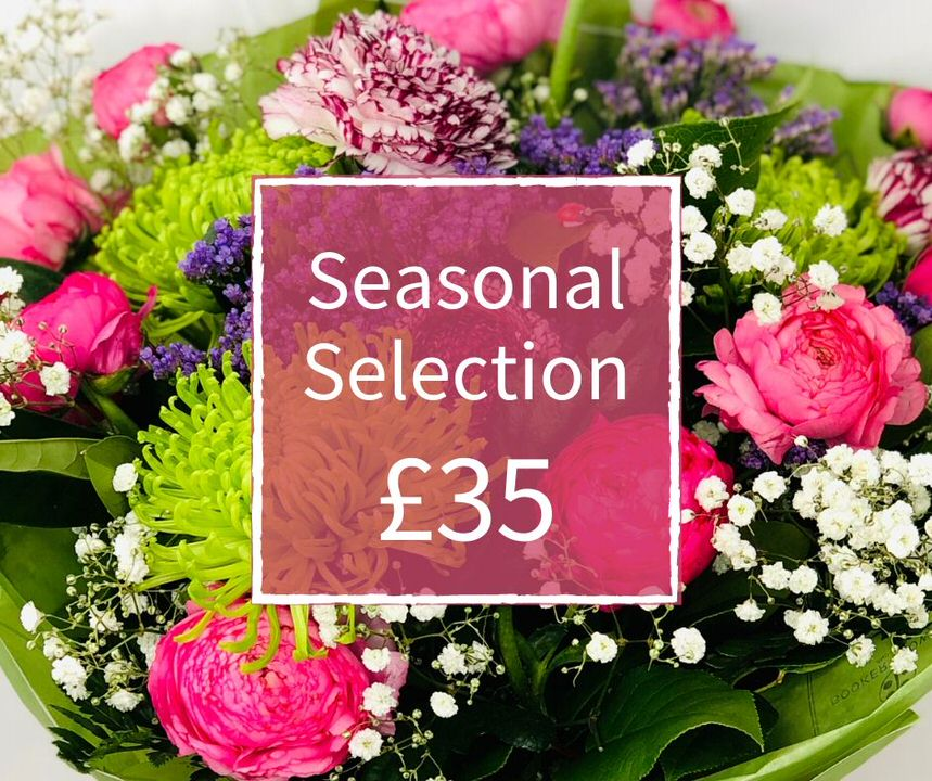 Florist Choice 35 - Seasonal Handtied Bouquet: Booker Flowers and Gifts