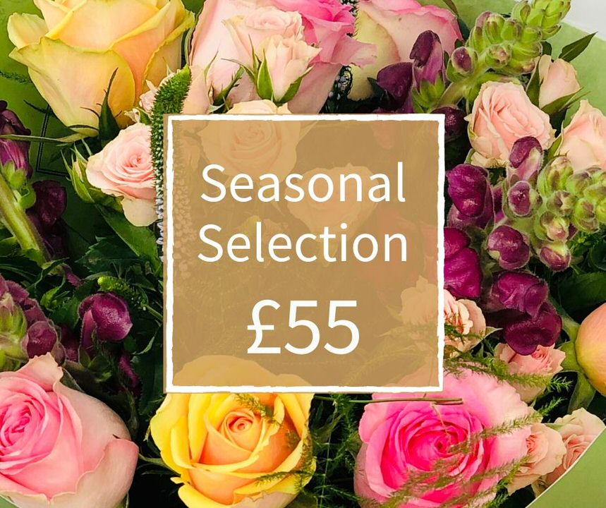 Florist Choice 55 - Seasonal Handtied Bouquet: Booker Flowers and Gifts