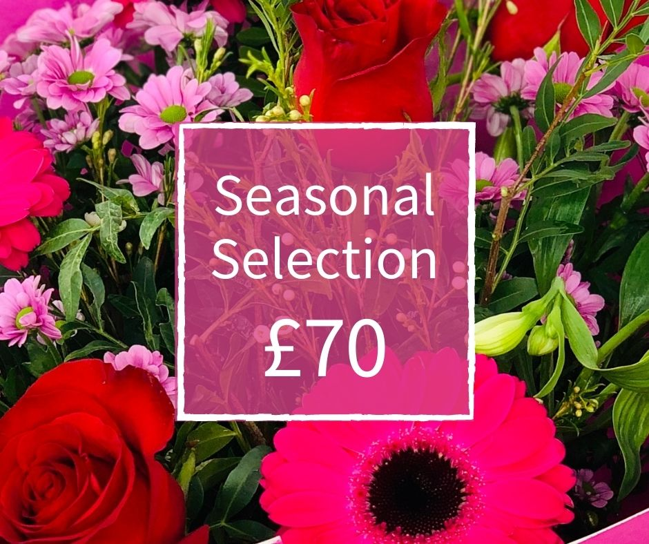 Florist Choice 70 - Seasonal Handtied Bouquet: Booker Flowers and Gifts