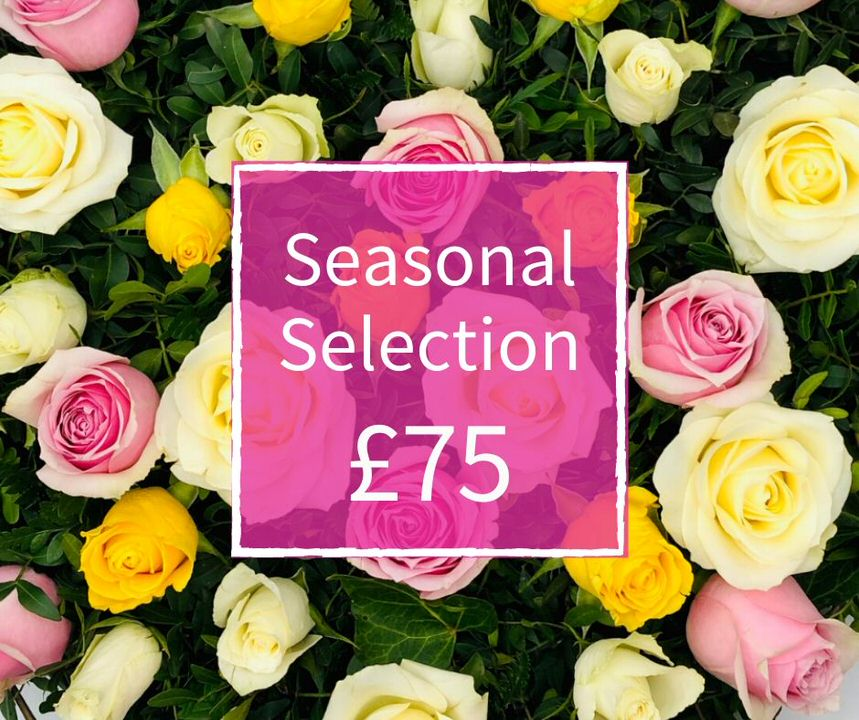 Florist Choice 75 - Seasonal Handtied Bouquet: Booker Flowers and Gifts