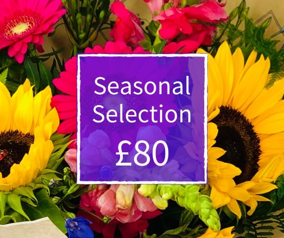 Florist Choice 80 - Seasonal Handtied Bouquet: Booker Flowers and Gifts