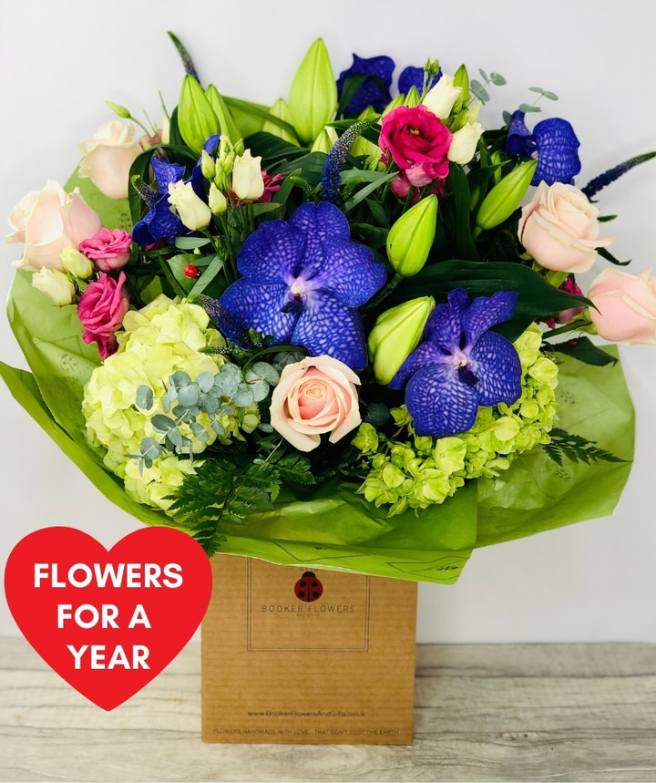 Flowers For A Year: Booker Flowers and Gifts