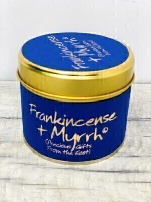 Frankincense and Myrrh Lily Flame Candle: Booker Flowers and Gifts