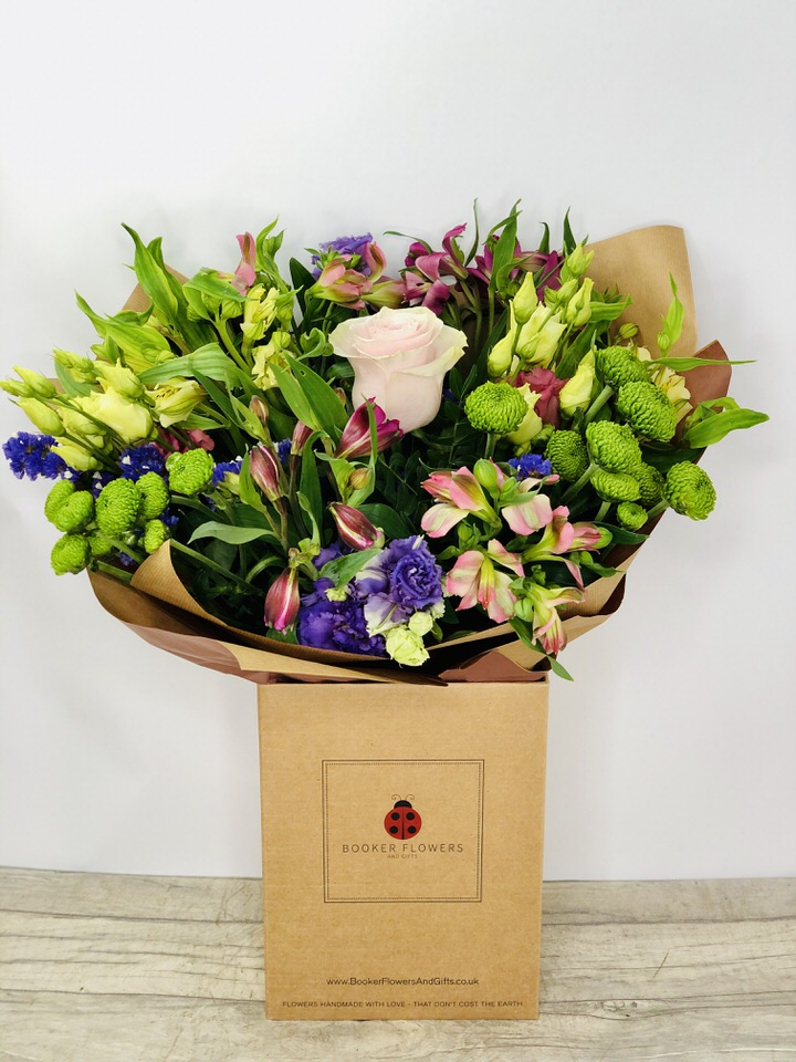 Bouquet in a Box of Flowers