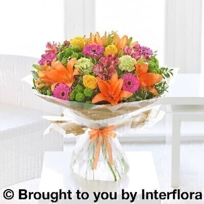 Get Well Vibrant Hand Tied - X LARGE: Booker Flowers and Gifts