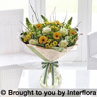 Spring Flowers in Water - Extra Large