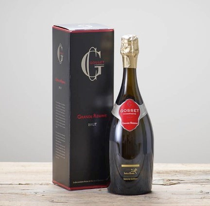 Gosset Brut Champagne Grande Reserve: Booker Flowers and Gifts