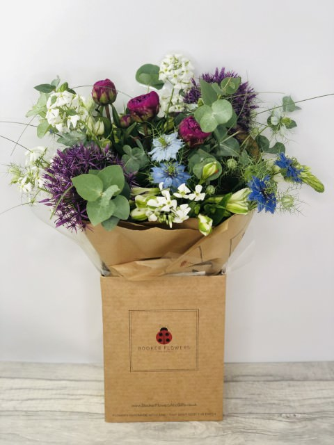 Great British Flowers Handtied Bouquet: Booker Flowers and Gifts
