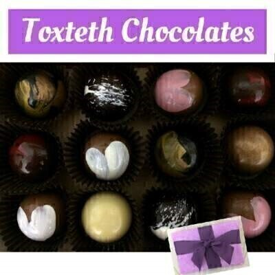 Handmade in Liverpool Toxteth Chocolates: Booker Flowers and Gifts