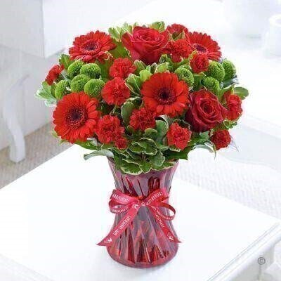 Red Flowersandnbsp;-andnbsp;Flowers in Vase