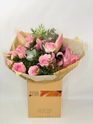 Beautiful Pink Flowers in Water - Birthday Flowers