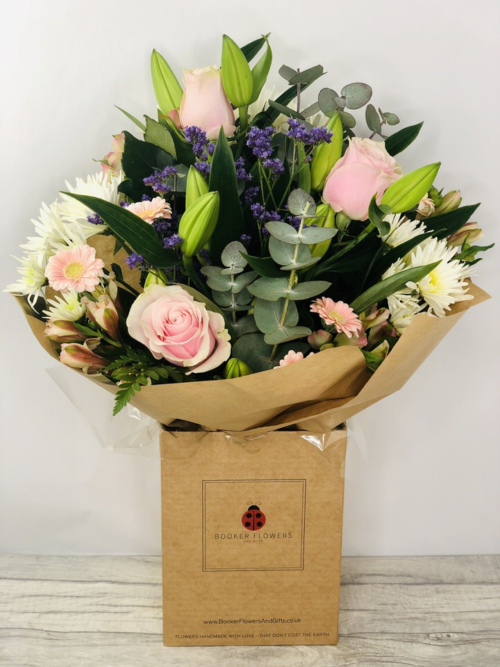 Happy Birthday Treasured Time Hand Tied Extra Large: Booker Flowers and Gifts