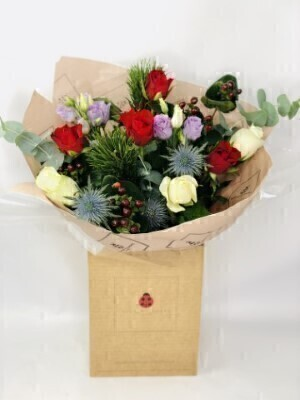 Jubilation Handtied Bouquet: Booker Flowers and Gifts