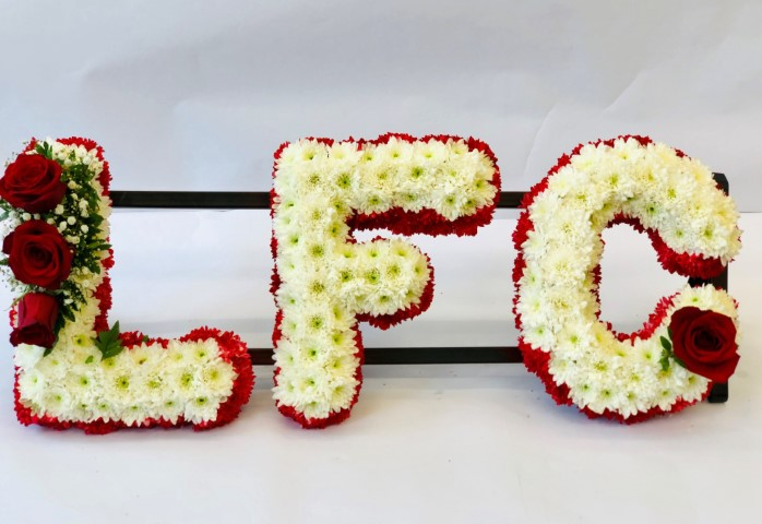Liverpool Football Club Funeral Letters | Funeral Flowers