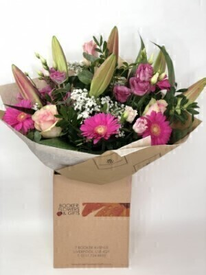 Pink Flowers - Flowers in Water