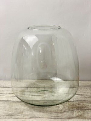 Large Recycled Glass Vase: Booker Flowers and Gifts