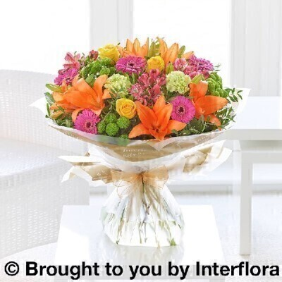 Large Vibrant Hand-tied: Booker Flowers and Gifts