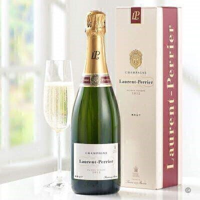 Laurent Perrier Champagne Gift Box: Booker Flowers and Gifts