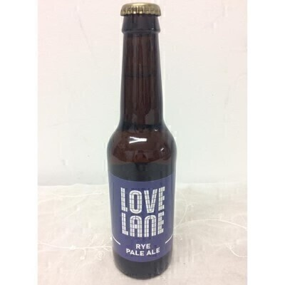 Love Lane Rye Pale Ale Liverpool Craft Beer: Booker Flowers and Gifts